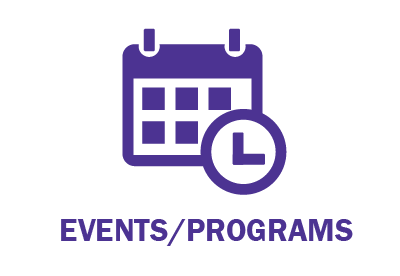 Events program blue